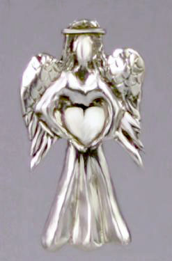 Angel Heart Pin